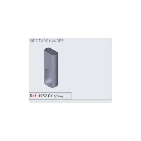 Soporte lateral alumino gris
