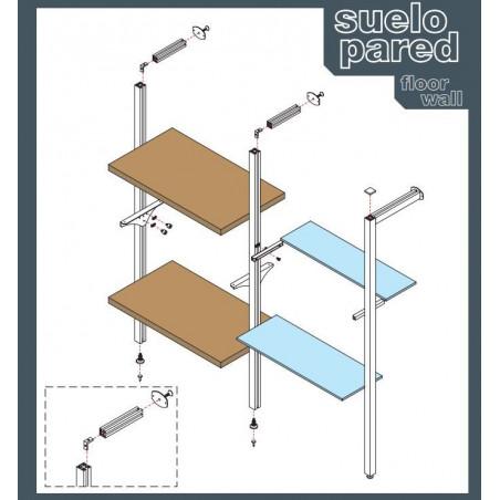 Conjunto soporte lateral