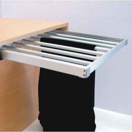 Pantalonero de aluminio extraible 600 mm.