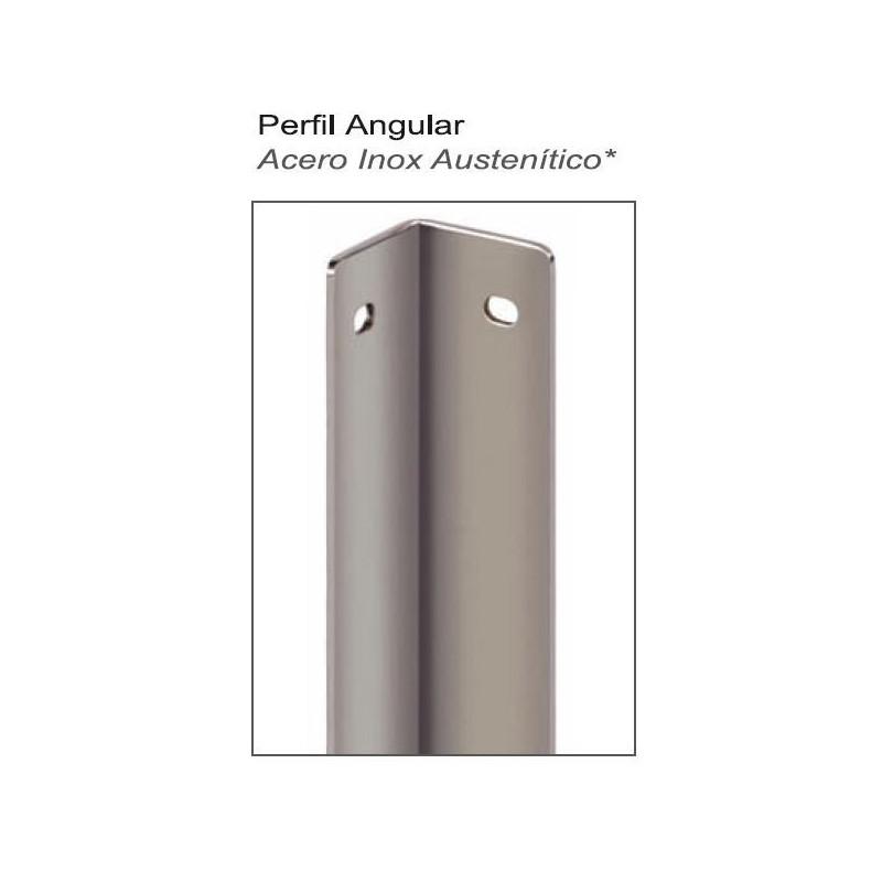 PERFIL ANGULAR INTERIOR 1,80mts A/INOX