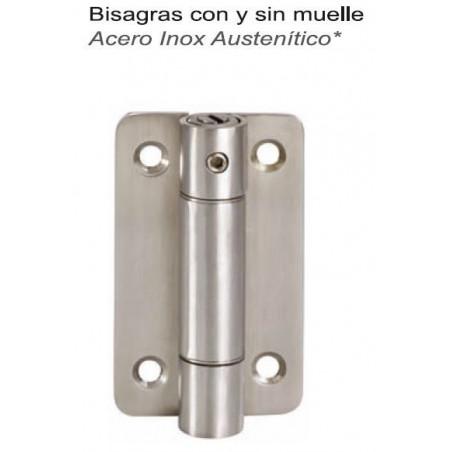 BISAGRA S/MUELLE ECO. A/INOX 76x65