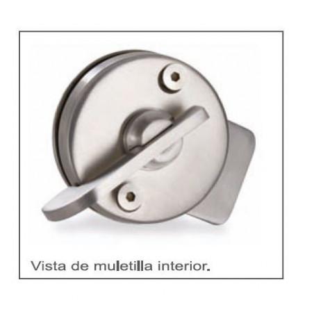 CONDENA-PESTILLO C/DESBLOQUEO A/INOX