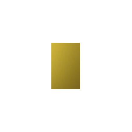 Kit de herrajes para tablero de 16mm con tirador RT Anodizado Oro Brillo Repulido