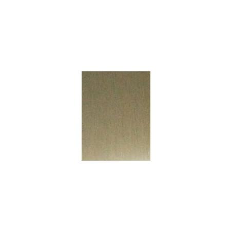 Kit de herrajes para tablero de 10mm con tirador FO Anodizado Inox Brillo