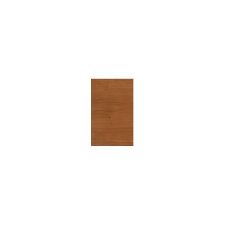 Kit de herrajes para tablero de 10mm con tirador FO Chapa de madera de Cerezo