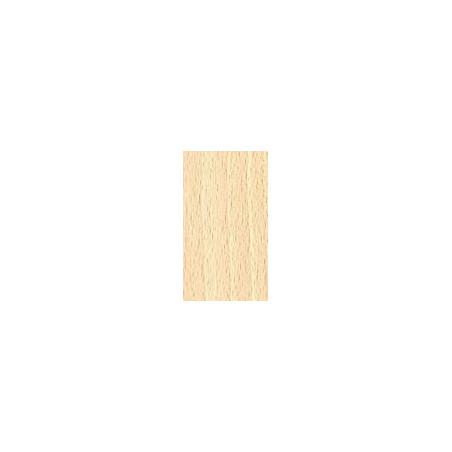 Kit de herrajes para tablero de 10mm con tirador FO Chapa de madera de Haya Blanca
