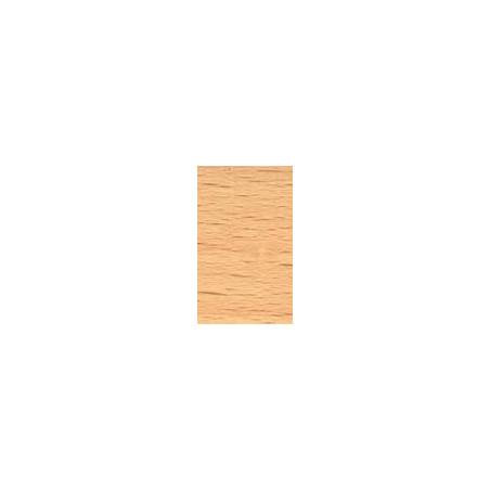 Kit de herrajes para tablero de 10mm con tirador FO Chapa de madera de Haya Vapor