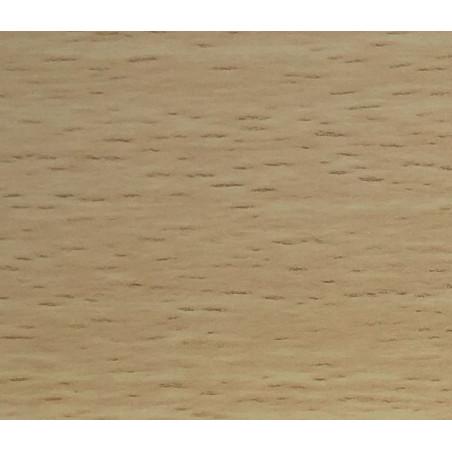 "Perfil ""H"" 16x15mm Acabado Mel Haya Blanca"