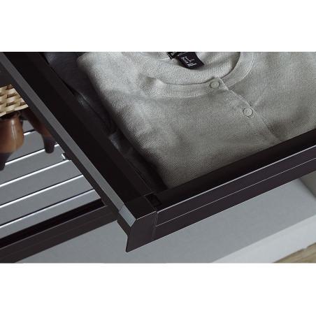 BANDEJA METALICA EXTENSIBLE DE 120MM DE PROFUNDIDAD 664-714mm