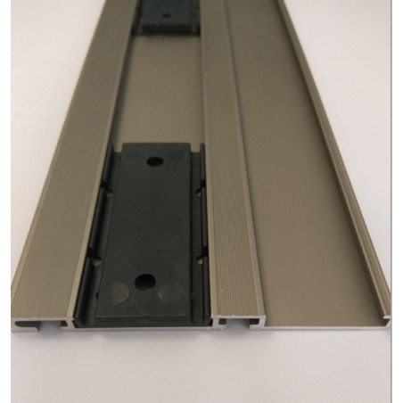 Pieza de anclaje para guías de armario GI70 y GI3P