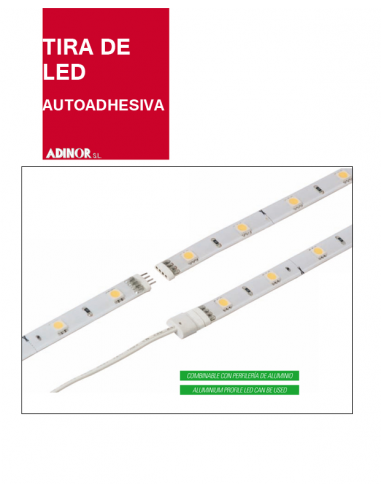 Rollo led autoadhesivo Estanco 24V