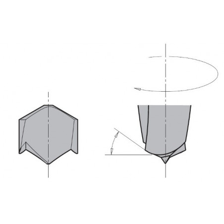 Broca Ciega X-Treme HM SMG D10X57.5 S10X27 SX