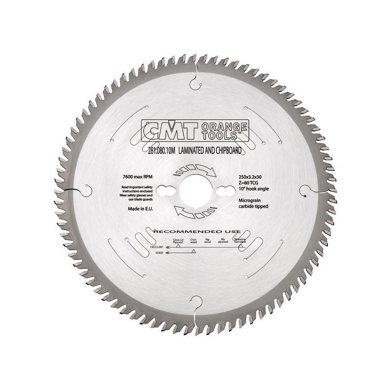 Sierra Circular 350X3.5X30 Z108 TCG silenciosa