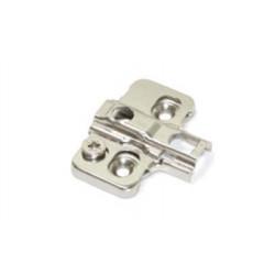 Base para bisagra aluminio con regulación €/ud