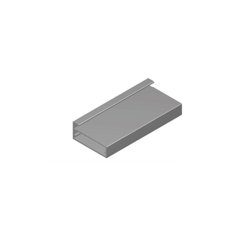Perfil Aluminio 20x45 P8 Lacado Blanco Brillo €/ml