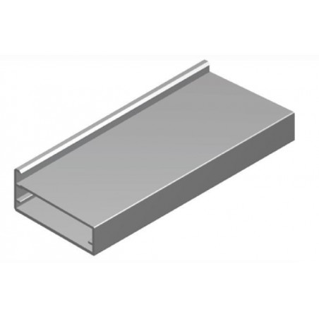 Perfil Aluminio 20x45 P4 Lacado Blanco Brillo €/ml