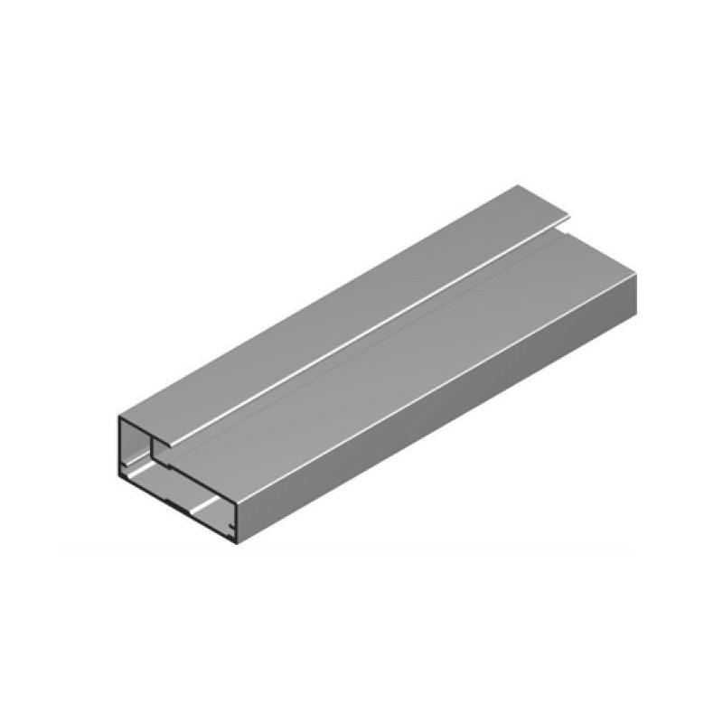 Perfil Aluminio 20x45 P20 Lacado Blanco Brillo €/ml