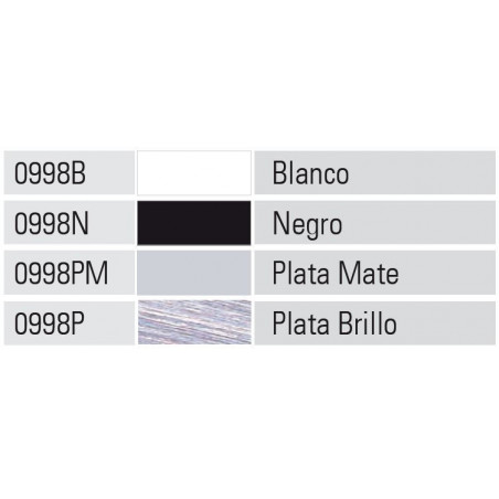Perfil Aluminio 20x45 P45 Lacado Blanco Brillo €/ml