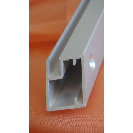 Perfil Aluminio 19x21 Anodizado Plata Brillo €/ml