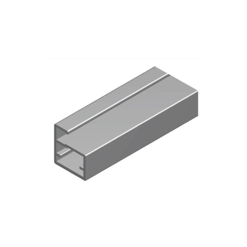 Perfil Aluminio 20x18 P8 Lacado Blanco Brillo €/ml